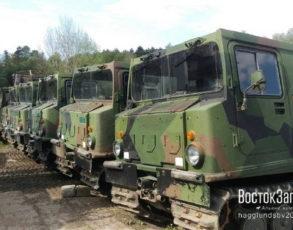 шведский вездеход Bv 206 лось