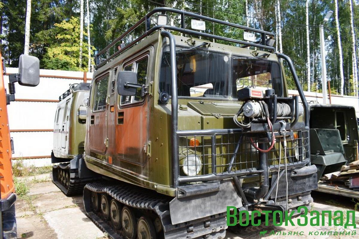 В наличии гусеничный вездеход-амфибия BV-206 с оригинальным двигателем Мерседес ОМ612